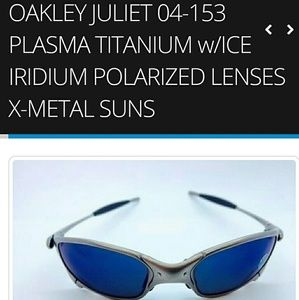 Oakley Juliet Sunglasses Rare